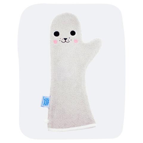 Baby Shower Glove Grijze Zeehond