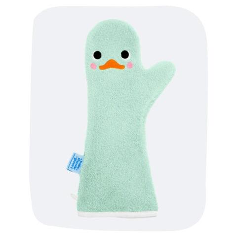 Baby Shower Glove Groene Zwaan