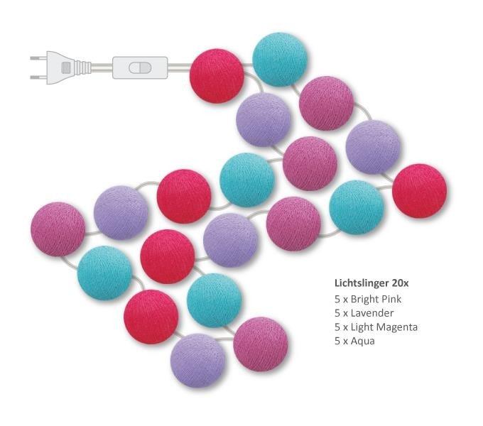 "Cotton Ball Lights lichtslinger ""Happy"""
