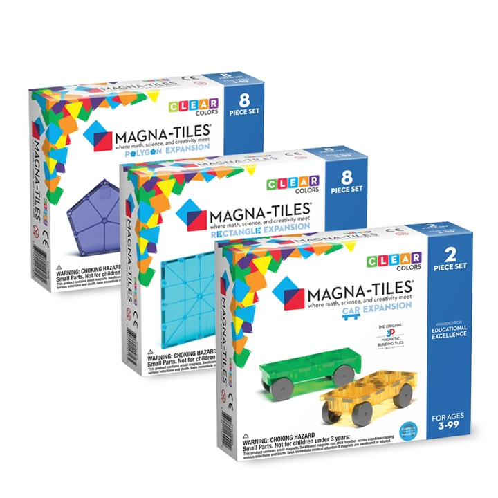 Magna-Tiles Expansion Kit