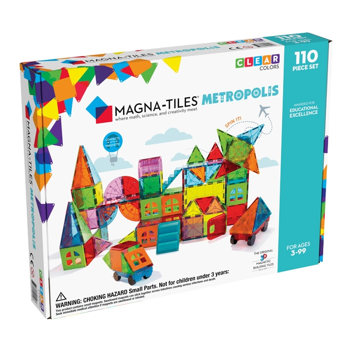 Magna-Tiles Metropolis 110