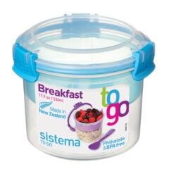 Sistema To Go Breakfast 530ml Blauw