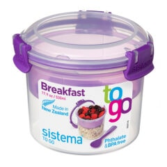 Sistema To Go Breakfast 530ml Paars