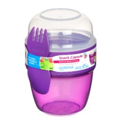 Sistema To Go Snack Capsule 515ml Paars