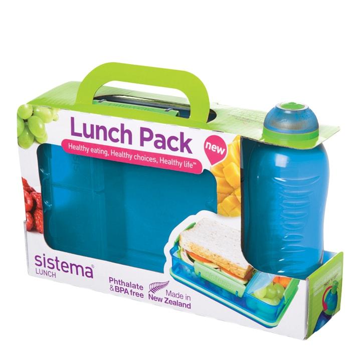 Sistema Lunch Pack Blauw