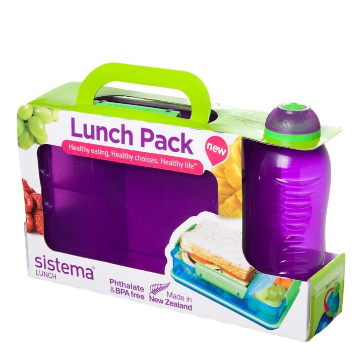 Sistema Lunch Pack Paars