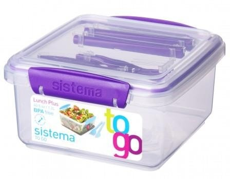 Sistema Lunch Plus to Go paars