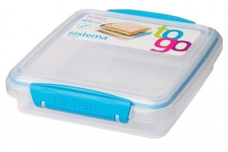 Sistema Sandwich Box To Go - Blauw