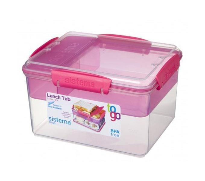 Sistema To Go Lunch Tub Roze