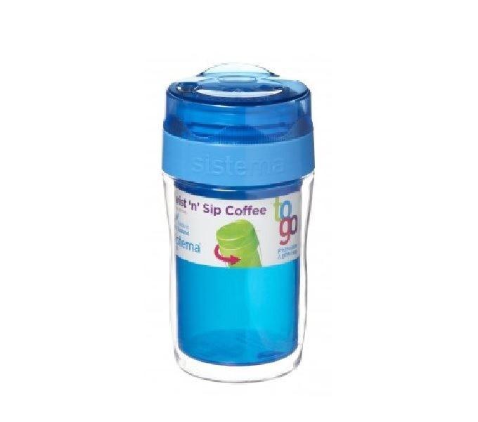 Sistema Twist & Sip Coffee To Go Small Blauw
