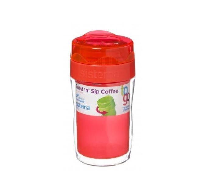 Sistema Twist & Sip Coffee To Go Small Meloenkleurig