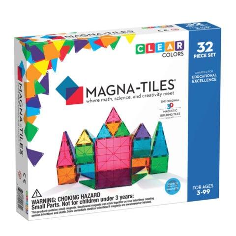 Magna-Tiles Clear Colors 32