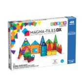 Magna-Tiles Clear Colors DX 48