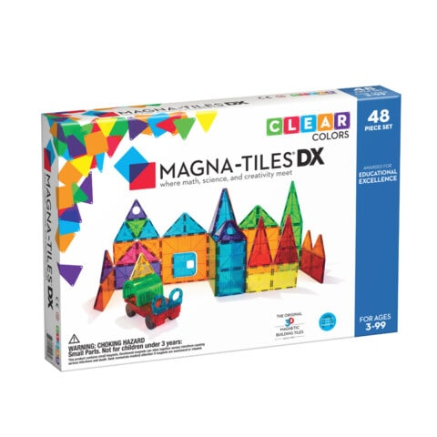 Magna-Tiles Clear Colors DX 48