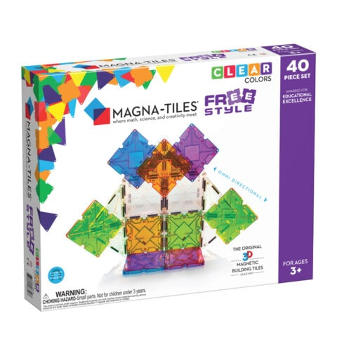 Magna-Tiles Freestyle 40