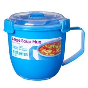 Sistema To Go Soepmok 900 ml Blauw