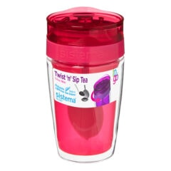Sistema Tea Infuser 370ml Roze