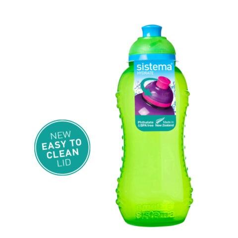 Sistema Squeeze flesje 330ml Groen