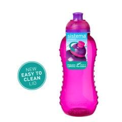 Sistema Squeeze flesje 330ml Roze