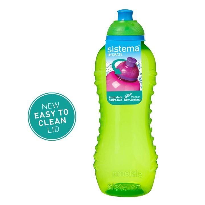 Sistema Squeeze flesje 460ml Groen
