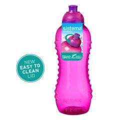 Sistema Squeeze flesje 460ml Roze