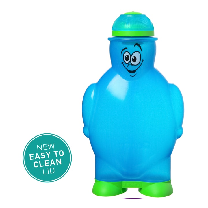 Sistema Happy flesje 350ml Blauw