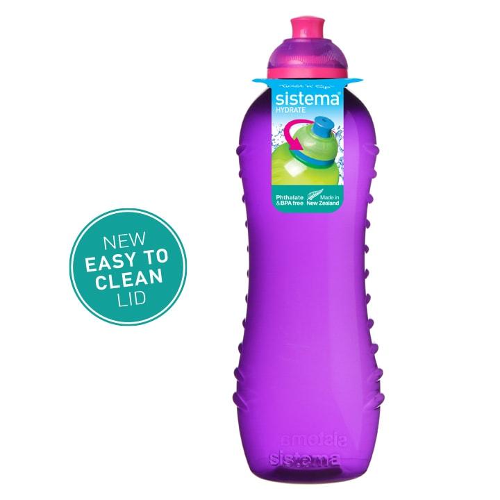 Sistema Squeeze flesje 620ml Paars