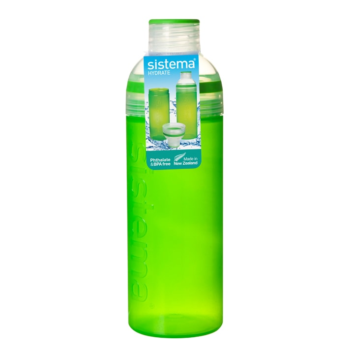 Sistema Hydrate Drinkfles Trio 700ml Groen