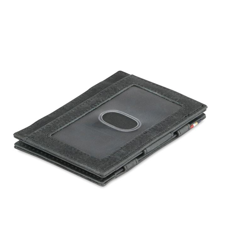 Garzini MW Essenziale ID Window Brushed Black