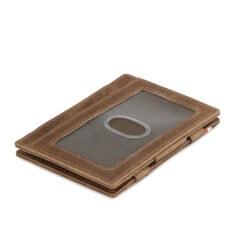 Garzini MW Essenziale ID Window Brushed Brown
