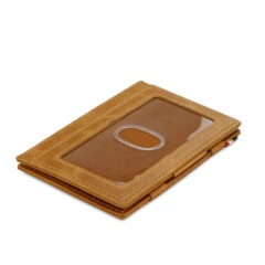 Garzini MW Essenziale ID Window Brushed Cognac