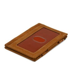 Garzini MW Essenziale ID Window Vintage Camel Brown