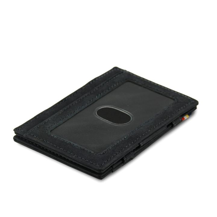 Garzini MW Essenziale ID Window Vintage Carbon Black