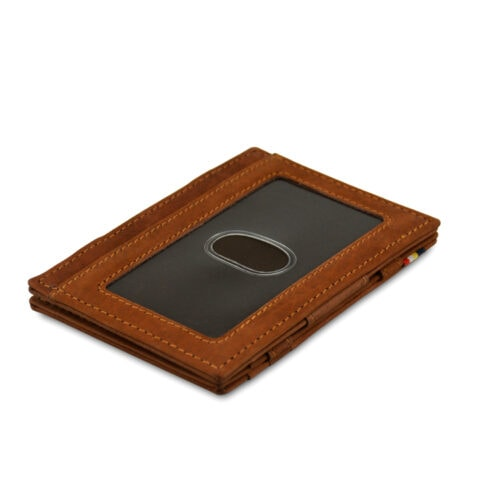 Garzini MW Essenziale ID Window Vintage Java Brown