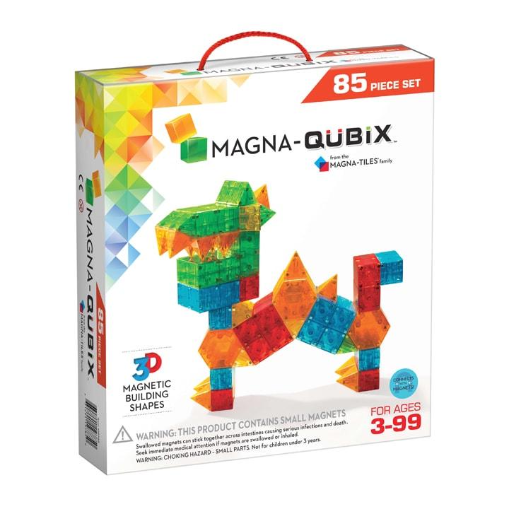 Magna-Qubix Set van 85 magnetische 3D-vormen