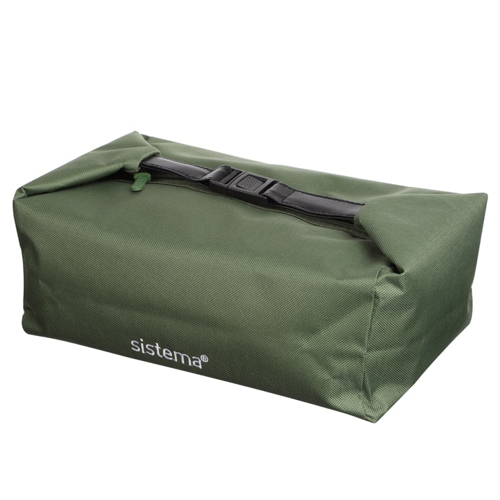 Sistema To Go Lunch Bag Army Green