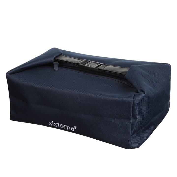 Sistema To Go Lunch Bag Marine Blue