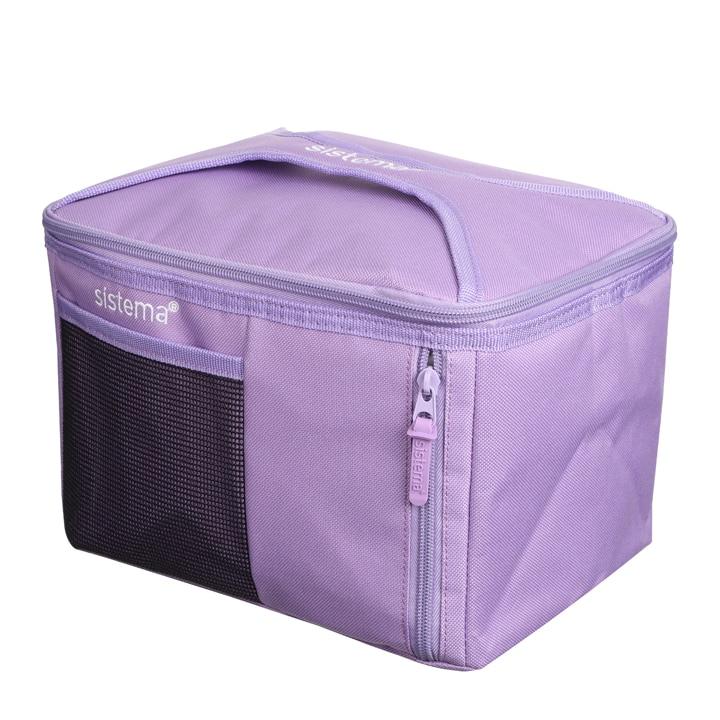 Sistema To Go Mega Fold Up Cooler Bag Lila