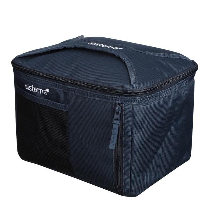 Sistema To Go Mega Fold Up Cooler Bag Marine Blue