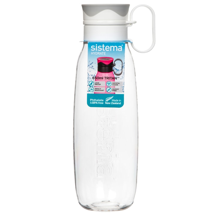 Sistema Hydrate Traverse Drinkfles 650 ml Wit