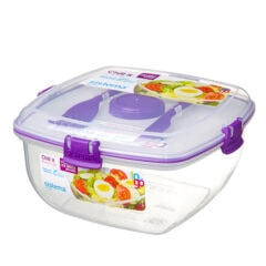 Sistema To Go Chill It Saladebox 1.630ml Paars