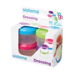 Sistema To Go Dressing Set van 4