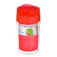 Sistema To Go Twist 'n Sip Coffee isoleerbeker 315ml Oranje