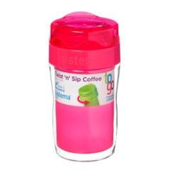 Sistema To Go Twist 'n Sip Coffee isoleerbeker 315ml Roze