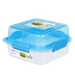 Sistema To Go Lunch Stack 1.240ml Blauw