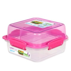 Sistema To Go Lunch Stack 1.240ml Roze