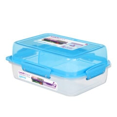 Sistema To Go Lunch Stack Rectangle 1800ml Blauw