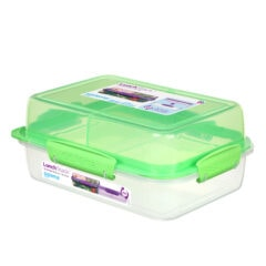 Sistema To Go Lunch Stack Rectangle 1800ml Groen