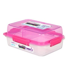 Sistema To Go Lunch Stack Rectangle 1800ml Roze