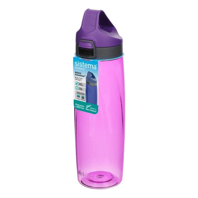 Sistema Hydrate Adventum drinkfles 900ml Paars